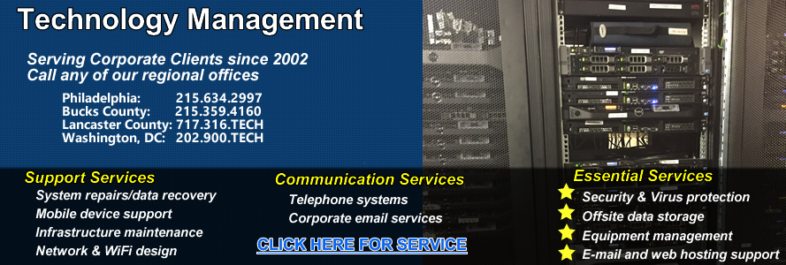 Philadelphia Bucks Lehigh Countycomputer support services