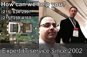 Philadelphia Bucks County Wilmington computer tech support service